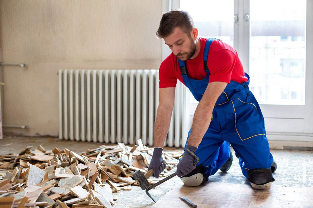construction clean up services in Greenville, SC